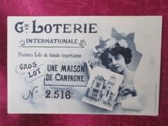 LOTERIE NATIONALE . UNE MAISON DE CAMPAGNE - Cartes Postales