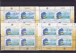 BAHAMAS : Cinquantenaire De Europa : Y&T : ** : 1213 à 1216 En Feuille De 4 Timbres - 2005