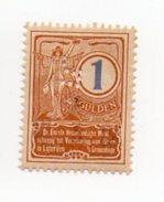 Fisca Fiscaux Revenue Nederlandsche Maatschappij Tot Verzering Van Risico In Loterijen 1912 - Fiscale Zegels