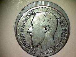 Belgique 1 Franc 1887 VL - 07. 1 Franc