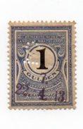 Fisca Fiscaux Revenue Nederlandsche Maatschappij Tot Verzering Van Risico In Loterijen 1913 - Fiscale Zegels