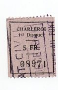 Fiscal Fiscaux Revenue Charleroi - Postzegels