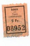 Fiscal Fiscaux Revenue Roux - Postzegels