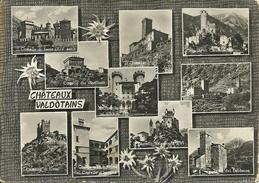 Castelli Valdostani, Chateaux Valdotains, Fenis, Challant, Runaz, Ussel, Issogne, Torre Del Lebbroso - Italië