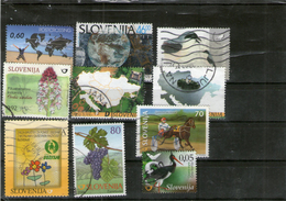 Lot Of 10 Stamp All Diferent - Slovenia