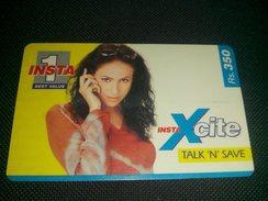 Pakistan Instaone Rs 350 Phonecard Used