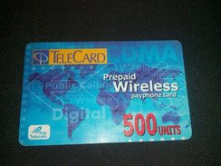 Pakistan Telecard 500 Units Phonecard Used - Phonecards