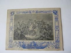 CAHIER ECOLE 1903 ENTIEREMENT ECRIT LA BATAILLE DE RAVENNE ( TABLEAU DE SCHUTZ Musée De Versailles ) Imp F. LEVE - Bambini