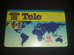 Pakistan Telecard 45 Units Chip Phonecard Used - Telefoonkaarten