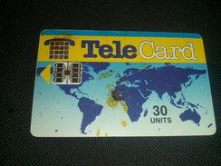 Pakistan Telecard 30 Units Chip Phonecard Used