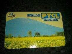 Pakistan PTCL Rs 100 Phonecard Used - Télécartes