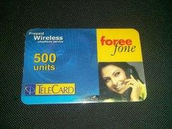 Pakistan Telecard 500 Units Phonecard Used