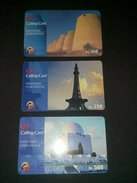 Pakistan GT Calling Card Lot Of 3 Phonecard Used - Télécartes