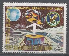 Equatorial Guinea 1975, Scott #75115 Return Of The Spacecraft To The Capsule, Apollo 11 (U) - Guinée Equatoriale
