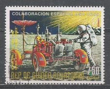 Equatorial Guinea 1975, Scott #75116 Rover, First Vehicule On The Moon, Apollo 15 (U) - Guinée Equatoriale