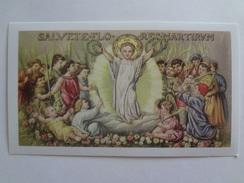 D881 - Santino Holy Card Ed.Paco N.394 I Ss. Innocenti Martiri - Santini