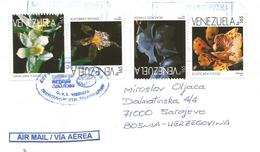 Venezuela 1998 Valencia Scuticare Acacallis Aspasia Maxillaria Orchid Cover - Venezuela