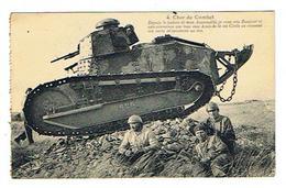 CPA MILITARIA Char De Combat - Ausrüstung