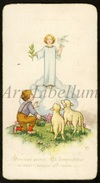 Communieprentje / Communie / Communion / Confirmation / 2 Scans / 1948 / Albert Leemans / Mariekerke / Bornem - Communion