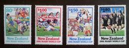 NOUVELLE-ZELANDE - YT N°1141 à 1144 - Coupe Du Monde De Rugby / Sport - 1991 - Neufs - Nouvelle-Zélande
