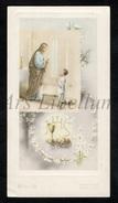 Communieprentje / Communie / Communion / Confirmation / 2 Scans / 1950 / Alexander Brijs / Bornem - Communie