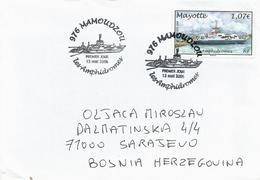 Mayotte 2006 Mamoudzou Ferry FDC Cover - Brieven En Documenten