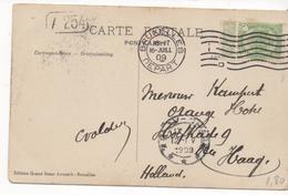 3080   Postal Bruxelles, 1909 Nepart - Bélgica