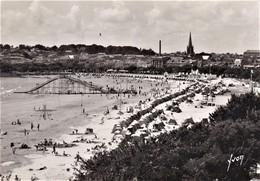 FRANCE CP 1948     Royan, La Plage Vue De L'Hôtel Des Flots Bleus Sur Marianne De Gandon 02 Août 1948 - Royan