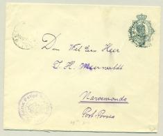 Nederlands Indië - 1919 - Cover Van LB Balige Naar KBu Porsea (Naroemonda) - Nederlands-Indië