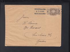 Bayern Brief 1910 Sonderstempel Ausstellung München - Bayern