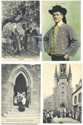 4 Cpa Plougastel Daoulas : Costumes, Procession, Baptême, ...   ((S.1703)) - Plougastel-Daoulas