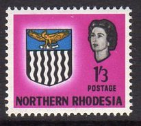 Northern Rhodesia QEII 1963 Coat Of Arms 1/3d Definitive, SG 83, MNH (BA) - Northern Rhodesia (...-1963)