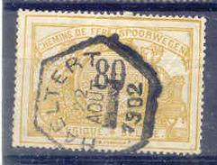 K853 Belgie Spoorwegen Met Stempel HAELTERT - 1895-1913