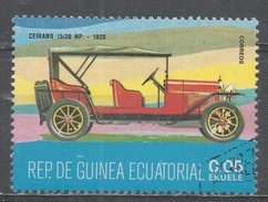 Equatorial Guinea 1977, Scott #7719 Ceirano 15/20 HP, 1920 (U) - Guinée Equatoriale