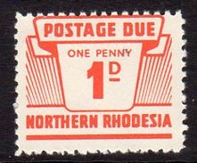 Northern Rhodesia 1963 1d Postage Due, SG D5, MNH (BA) - Northern Rhodesia (...-1963)