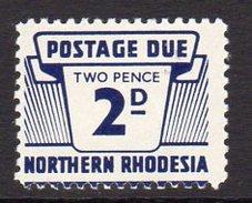 Northern Rhodesia 1963 2d Postage Due, SG D6, MNH (BA) - Northern Rhodesia (...-1963)