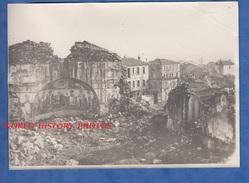 Photo Ancienne - EXISSOU Prés SALONIQUE - L' Eglise - Grèce Greece Guerre Des Balkans Macédoine Armée D'Orient WW1 - Guerre, Militaire