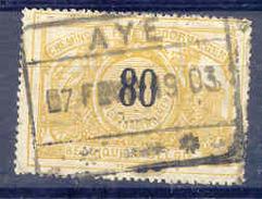 K850 Belgie Spoorwegen Met Stempel AYE - 1895-1913