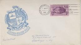 USA Operation Deep Freeze 1959 Ca Pole Station Antarctica Cover (34224) - Poolshepen & Ijsbrekers