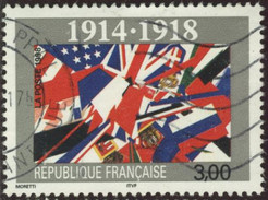 France Yv. N°3196 - 80e Anniversaire De L'Armistice - Oblitéré - Frankreich
