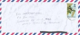 Seychelles 1997 Mahe Aldabra Souimanga Sunbird (Nectarinia Souimanga) Bird Cover - Seychellen (1976-...)