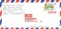 Seychelles 1991 Mahe Strychnos Spinosa Liana Poisenous Cardiac Treatment Plant Medicinal Cover - Seychellen (1976-...)
