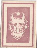 #BV6574  BULL'S HEAD,STAR,MOON,MATCHBOX LABEL,ROMANIA. - Matchbox Labels