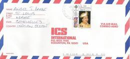Seychelles 1994 Mahe Queen Elisabeth II 65 Birthday Cover - Seychellen (1976-...)