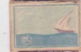 #BV6575  SAILING,SEA,WATER,SHIP,MATCHBOX LABEL,ROMANIA. - Boites D'allumettes - Etiquettes