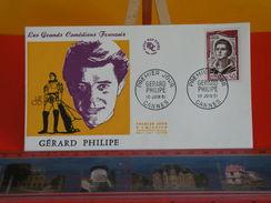 FDC > 1960-1969 > Gérard Philipe - Canne - 10.6.1961 - 1er Jour. Coté 5 € - FDC