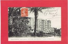 CAP D AIL 1912 RADIUM HOTEL CARTE EN BON ETAT - Cap-d'Ail