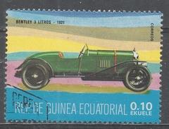 Equatorial Guinea 1977, Scott #7720 Bentley, 1921 (U) - Guinée Equatoriale