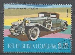 Equatorial Guinea 1977, Scott #7721 Duesenberg Model J, 1929-1930 (U) - Guinée Equatoriale