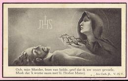 Bidprentje - Petrus Franciscus DE WIT Echtg. Maria Carolina Isabella De Block - Tisselt 1881 - Breendonk 1930 - Images Religieuses